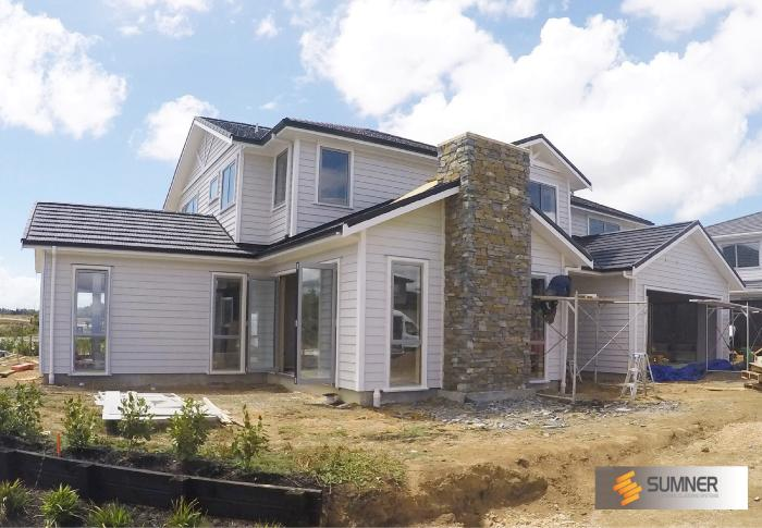 Our SUMNER Lakes was installed on this new Karaka Lakes home.