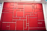 BECA Tauranga - Reception Wall