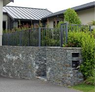 Homestead Balustrade in New Denim Blue Powder coat colour