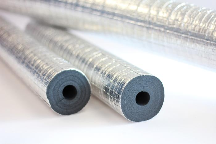 9705 compliant vapour barrier thermal tube insulation