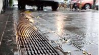 Polymer Concrete 200mm Wide by 225mm deep installed with Heelproof Cast Iron grate.