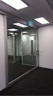 100mm Alement top hung sliding door