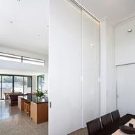 OvertakingDoors x3 Cavity slider with full height AluTec doors