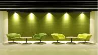 Snaptex acoustic wall