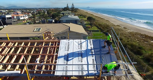 Sisalation® Surewrap® roof  Installation image
