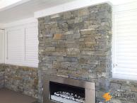 SUMNER Lakes Schist internal Fireplace in Nelson