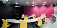 Formica Seal Grey used for desktops in lecture theatre