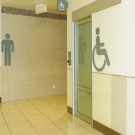AutoCav WC in shopping mall