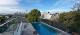 Batten pool Fence