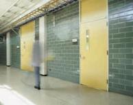 Formica can be used for doors in the education and hospital sector where good wear resistance is important