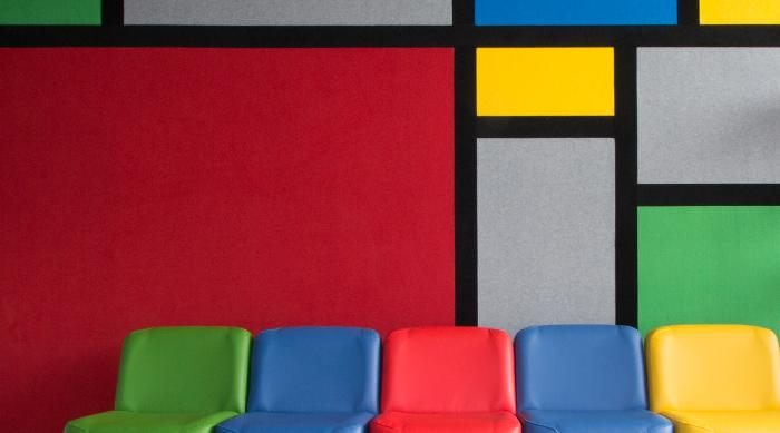 Composition provides the freedom to create a vibrant unique space that is acoustically sound