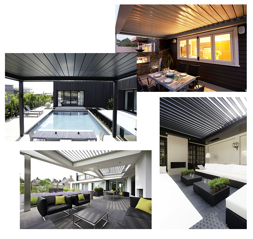 LOUVRETEC OPENING ROOF LOUVRES CREATE YOUR NEW FAVOURITE